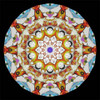 interior image of the Kaleidoscope - K-Pod Paperweight Series Edition #4 (Limited Edition) by Charles Karadimos