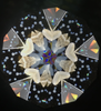 Kaleidoscope 'SuZoo - Harbor Seal' in Glass by Sue Rioux Designs sample interior image