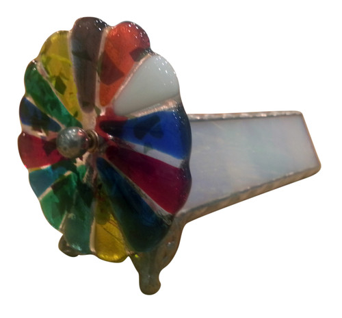 shown from the wheel end