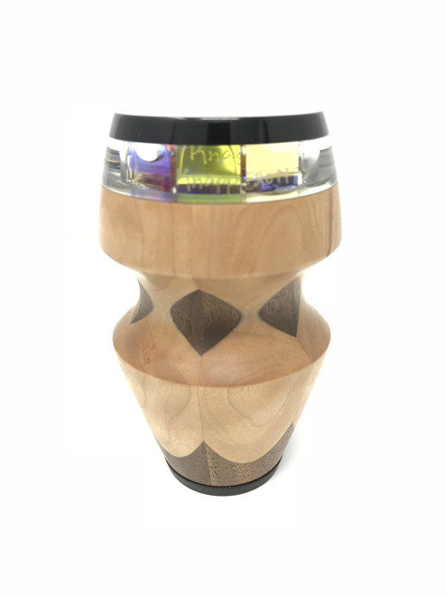 Kaleidoscope 'Not To' in Maple with Walnut with Warm Images by Randy & Shelley Knapp