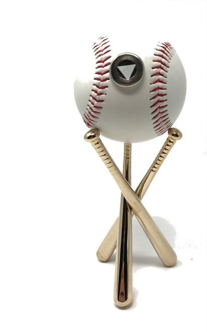 "Teleidoscope ""Eye on the Ball"" Baseball with stand by David Kalish"