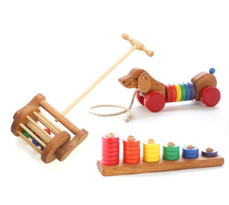 Toddler Wooden Toy Gift Set