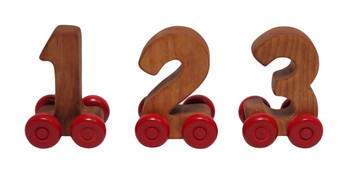 10-Piece Wooden Number Set