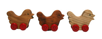 Wooden Chicks (Set of 3)