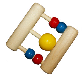 Wooden Ladder Baby Rattle