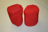 Winch Covers 2 Medium Scarlet Polyester Thread