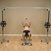 Body Solid Powerline Cable Crossover (Plate Loaded)