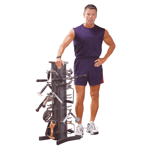 Body Solid VDRA30-PACK Accessory Rack Plus