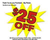 FREE $25 Coupon with Every Purchase