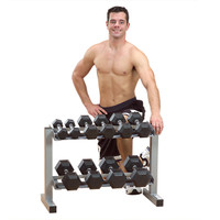 "Body Solid Powerline 32"" Dumbbell Rack"