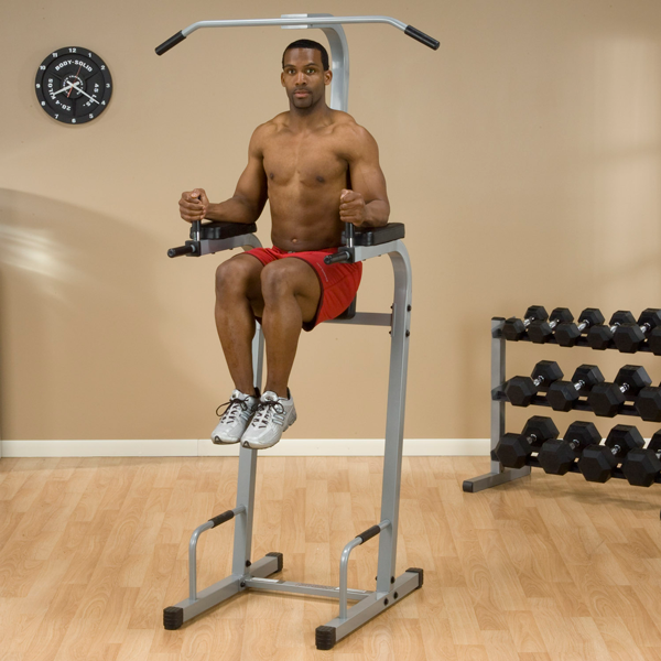 Body Solid Powerline Chin Dip / Vertical Knee Raise (PVKC83X)