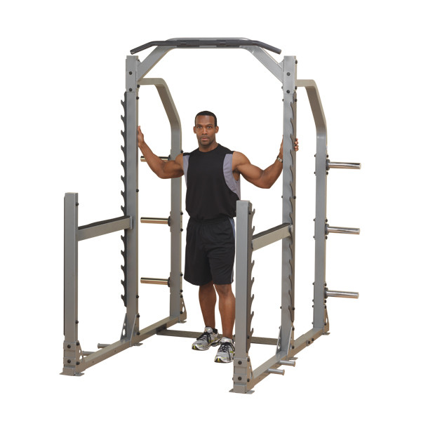 Body Solid Pro Club-Line Multi Squat Rack (SMR1000) (