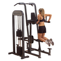 Body Solid FCD-STK Pro Dip Chin Tower with Weight Stack