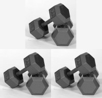 Hex Dumbbells - 5-75 LB Set