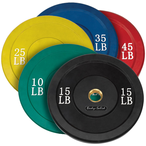 Olympic Rubber Bumper Plates