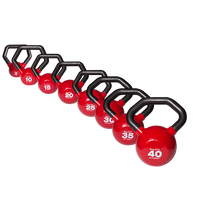 5-50 lb. Vinyl Dipped Kettlebell Set (KBLS275)