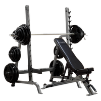 Body-Solid Bench Rack Combo