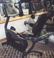 Precor Recumbent Bike. Model C842