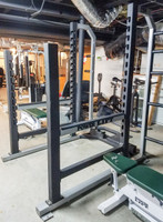 Power Lift Multi Power rack w/ bench