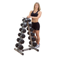 Body Solid 2-Tier Vertical Dumbbell Rack