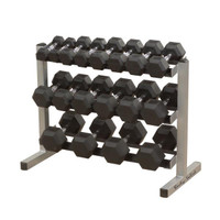 Body Solid Three Tier Dumbbell Rack