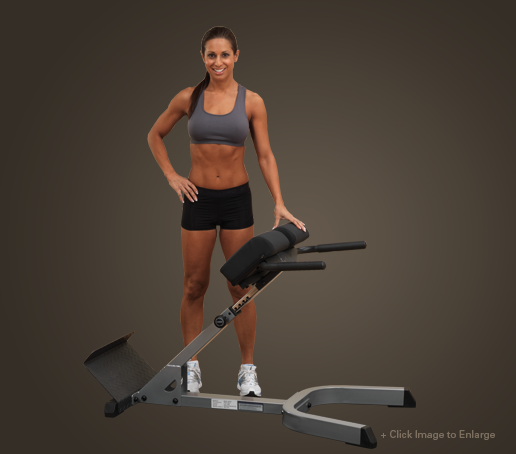 Body Solid GHYP345 45 Degree Back Hyperextension (GHYP345)