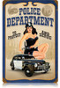 Police Pin Up