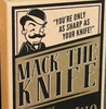 """Ace of Spades - Mack the Knife"" - Pocket Knife With Tools"