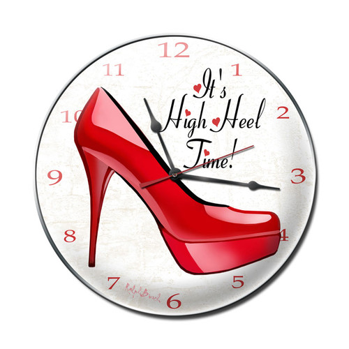"""HIGH  HEEL  TIME ""  CLOCK"