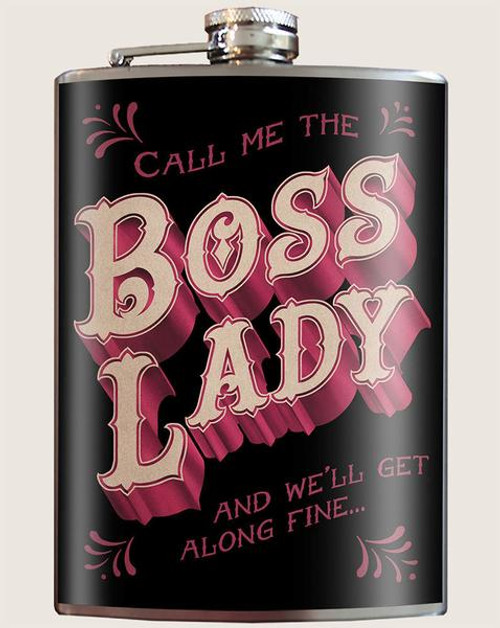 """Boss Lady"" - Flask"