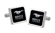 Mustang 50th Anniversary-50 Years with Pony-Cuff Links