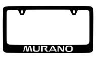 Nissan Murano Official Black License Plate Frame Tag Holder