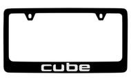 Nissan Cube Official Black License Plate Frame Tag Holder
