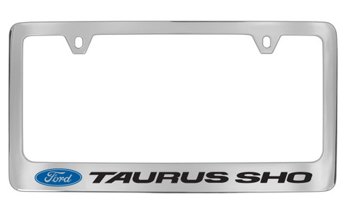 Ford Taurus Sho with Logo Chrome Plated Solid Brass License Plate ...