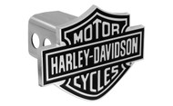 Harley-Davidson Trailer Hitch Cover Plug with 3D Bar & Shield