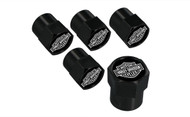 Harley-Davidson® Bar & Shield Valve Stem Cap (HDVCK14-K)