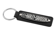 Harley-Davidson Faux Leather Key Chain (HDKL390)