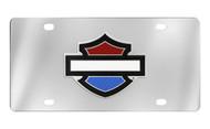 Harley-Davidson®  License Plate (HDLPD12-RWB)
