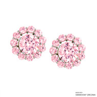 Interchangeable Earring Made with Swarovski Zirconia (EJZ2-29473)