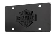 Harley-Davidson® Matte Black License Plate (HDLPDK13-MK)