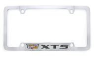 Cadillac Logo and XT5 Wordmark License Plate Frame Holder