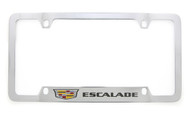 Cadillac Logo and Escalade Wordmark License Plate Frame Holder