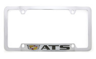 Cadillac Logo and ATS Wordmark License Plate Frame Holder