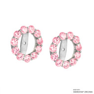 Earring Jacket Made with Swarovski Zirconia (JZ002)