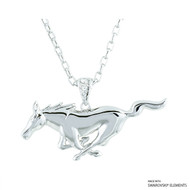 FORD PONY NECKLACE MADE WITH SWAROVSKI ELEMENTS
