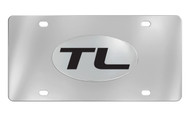 Acura TL Officially Licensed Chrome Decorative Vanity Front License Plate