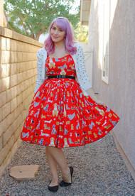 Bernie Dexter Rose Dress - Red Dog