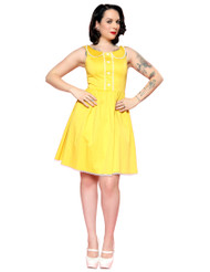 Steady Sunshine Dress - Yellow