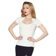 Steady Sophia Top - Ivory