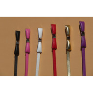 Tatyana Metal Bow Belt - Pink